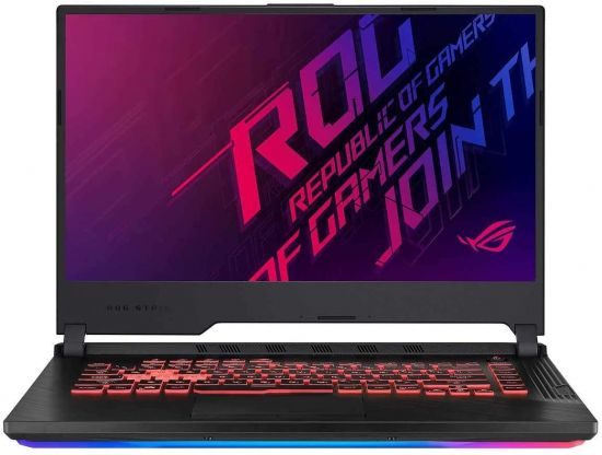 """ASUS ROG Strix G 15.6"""" FHD LED Gaming Laptop Notebook, Intel 6-Core i7-9750H, 8GB DDR4 Memory, 512GB SSD, GeForce GTX 1650 Graphics"""
