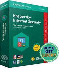 Kaspersky Internet Security Anti Virus - 3 Users Plus 1 Licence for Free