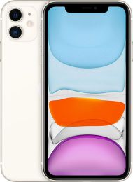 Apple iPhone 11, Factory GSM Unlocked White