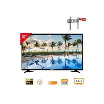 "Nasco NAS-B32FB Digital Satellite TV - 32"" + Free Bracket"