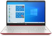 HP Notebook 15-dw1083wm Intel Pentium Gold 6405U Laptop - 4GB DDR4 RAM - 128GB SSD - Windows 10 - Scarlet Red