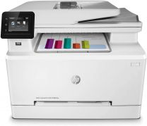 HP Color LaserJet Pro M283fdw Wireless All-in-One Laser Printer, Remote Mobile Print, Scan & Copy, Duplex Printing with -Toner -Cartridges