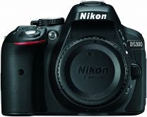 Nikon D5300 24.2 MP CMOS Digital SLR Camera with Built-in Wi-Fi and GPS Body Only