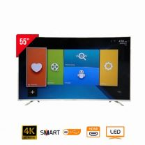 Nasco LED55Q9 UHD Curved Smart LED TV - 55""