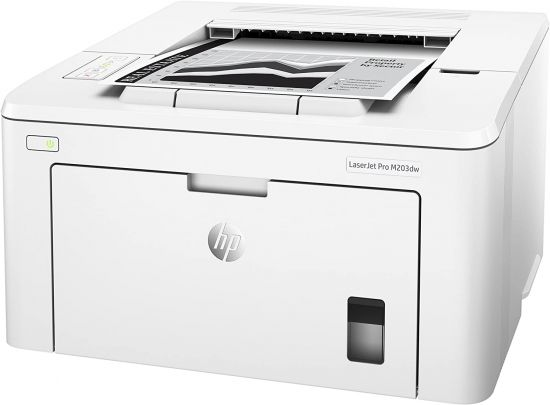 HP Laserjet Pro M203dw Wireless Monochrome Laser Printer with Auto Two-Sided Printing, Mobile Printing & Built-in Etherner